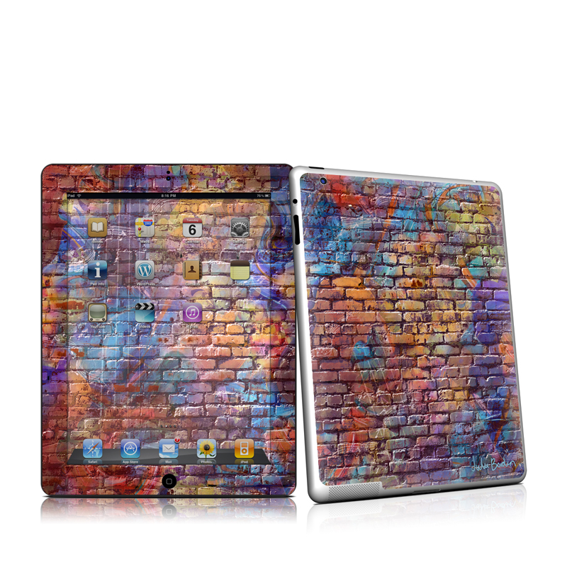 Painted Brick iPad 2 Skin