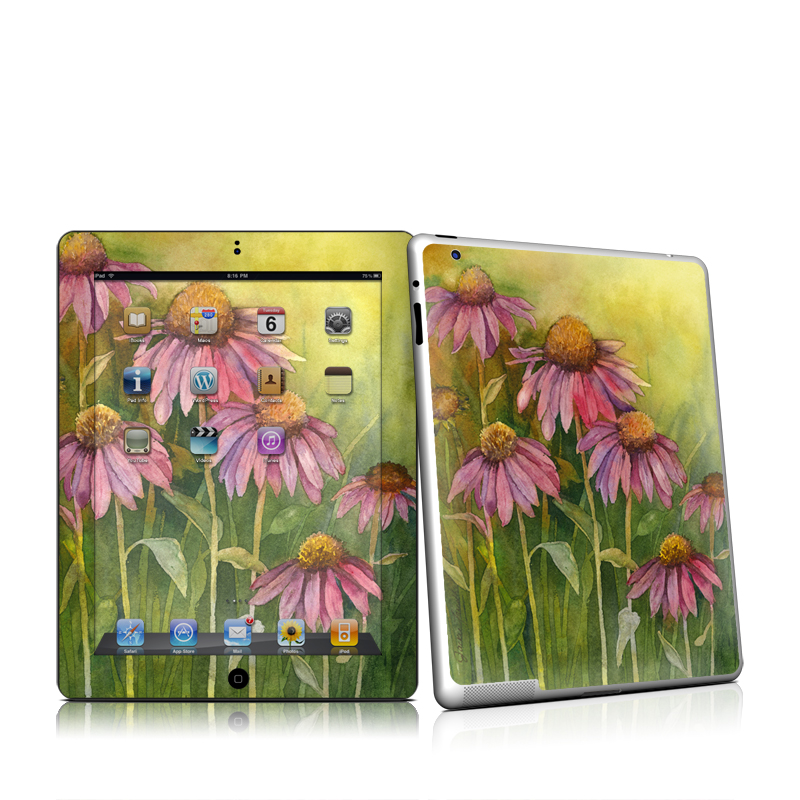 Prairie Coneflower iPad 2nd Gen Skin