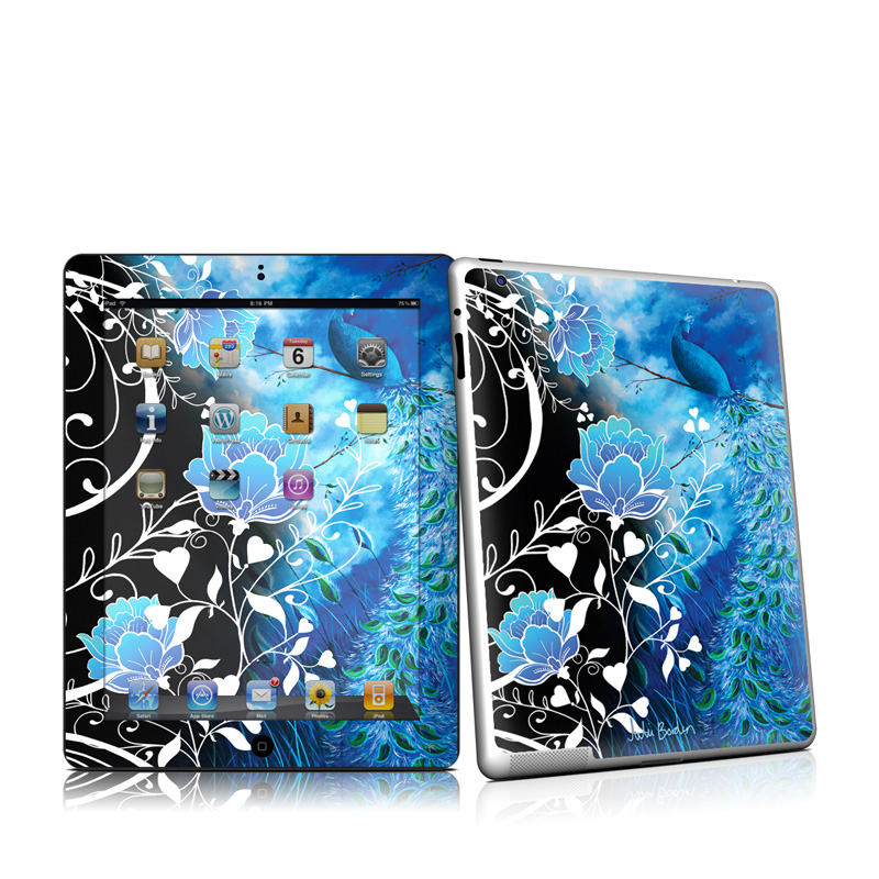 Peacock Sky iPad 2nd Gen Skin