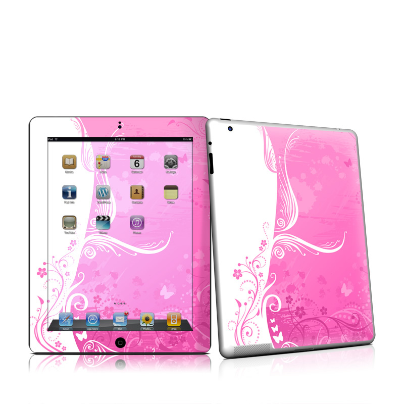 Pink Crush iPad 2nd Gen Skin