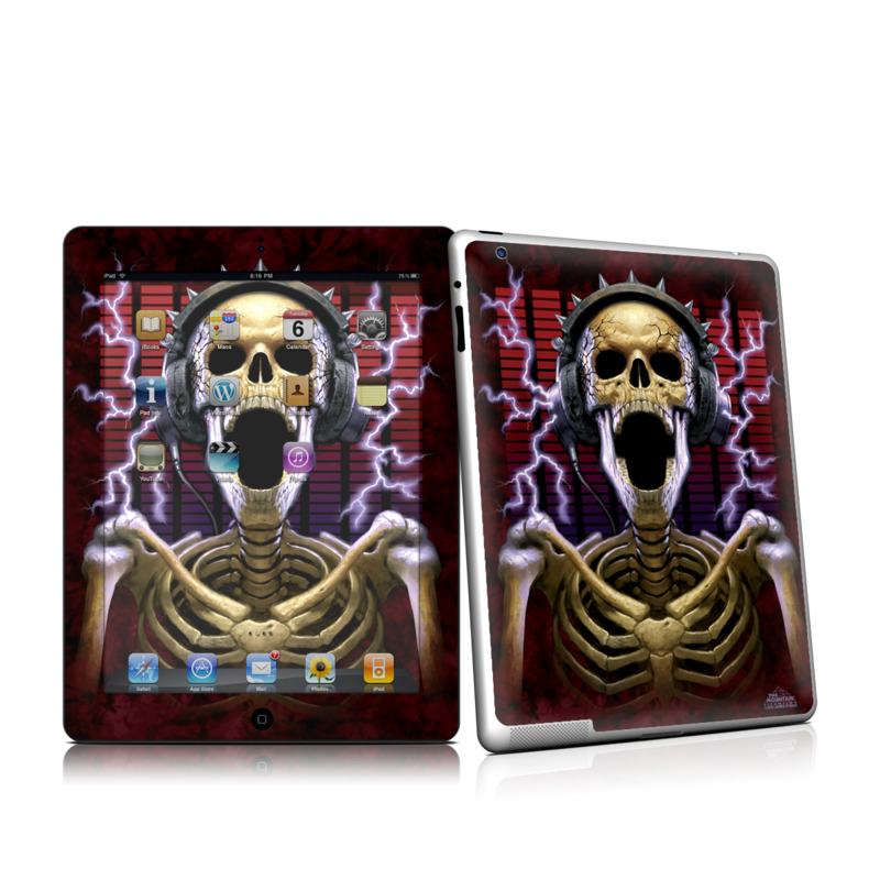 Play Loud iPad 2nd Gen Skin