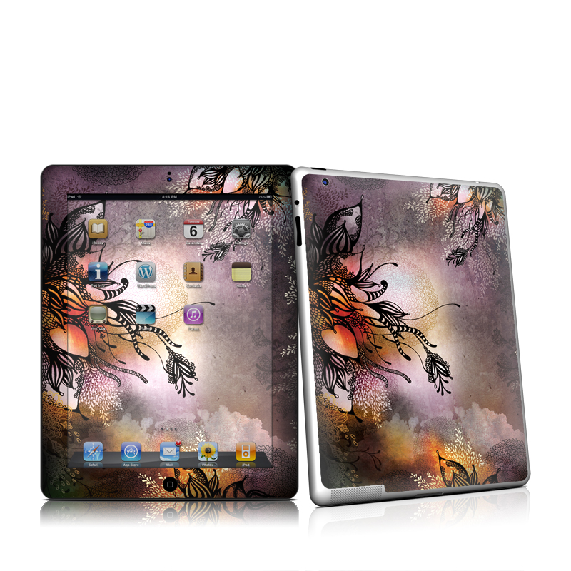 Purple Rain Apple iPad 2 Skin