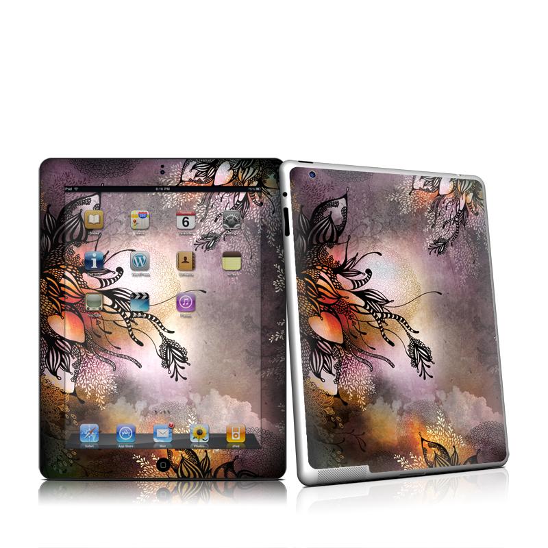 Purple Rain iPad 2nd Gen Skin