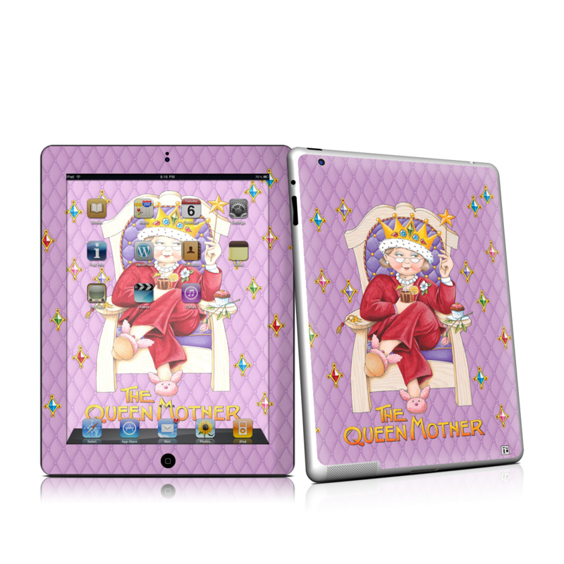 Queen Mother iPad 2nd Gen Skin
