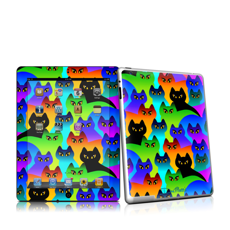 Rainbow Cats iPad 2nd Gen Skin
