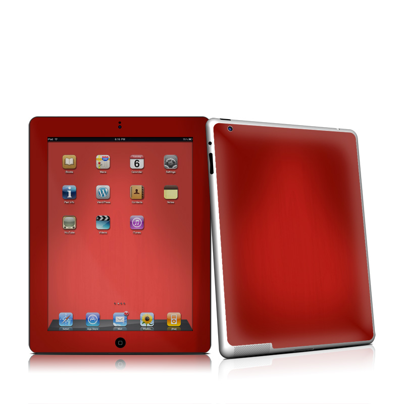 Red Burst iPad 2nd Gen Skin