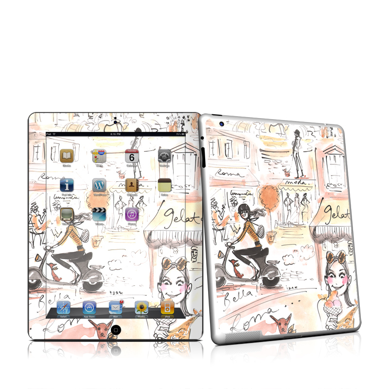 Rome Scene Apple iPad 2 Skin