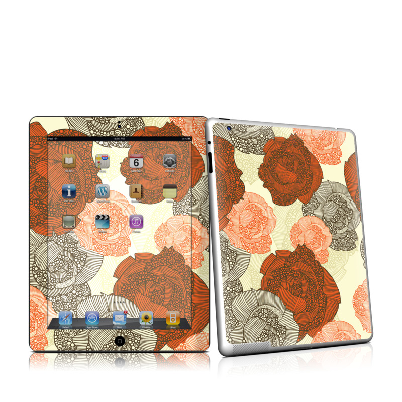 Roses iPad 2nd Gen Skin