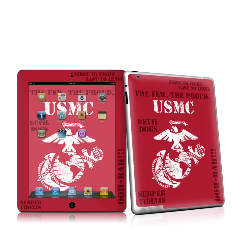 Semper Fi iPad 2nd Gen Skin
