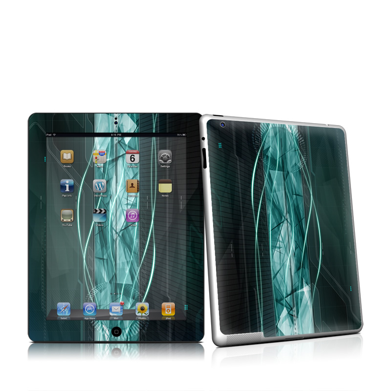 Shattered iPad 2nd Gen Skin