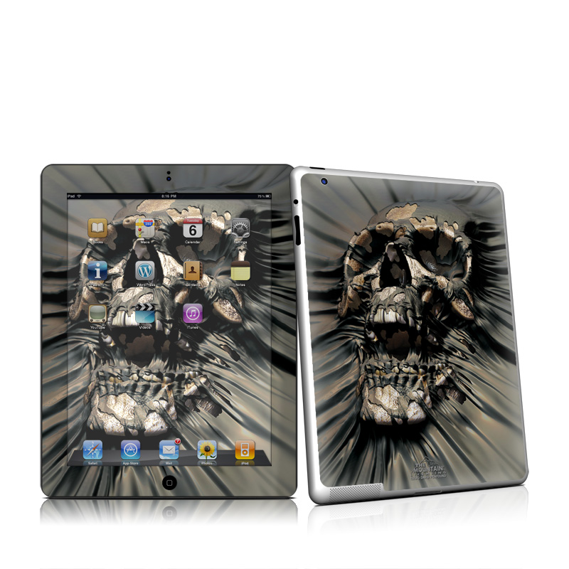Skull Wrap iPad 2nd Gen Skin