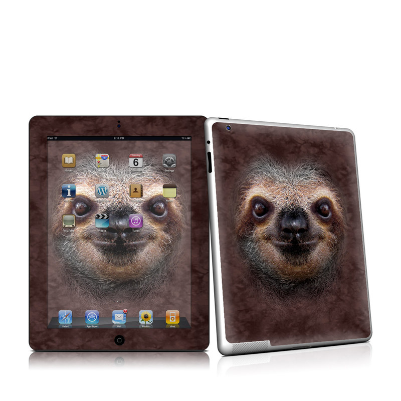 Sloth iPad 2nd Gen Skin