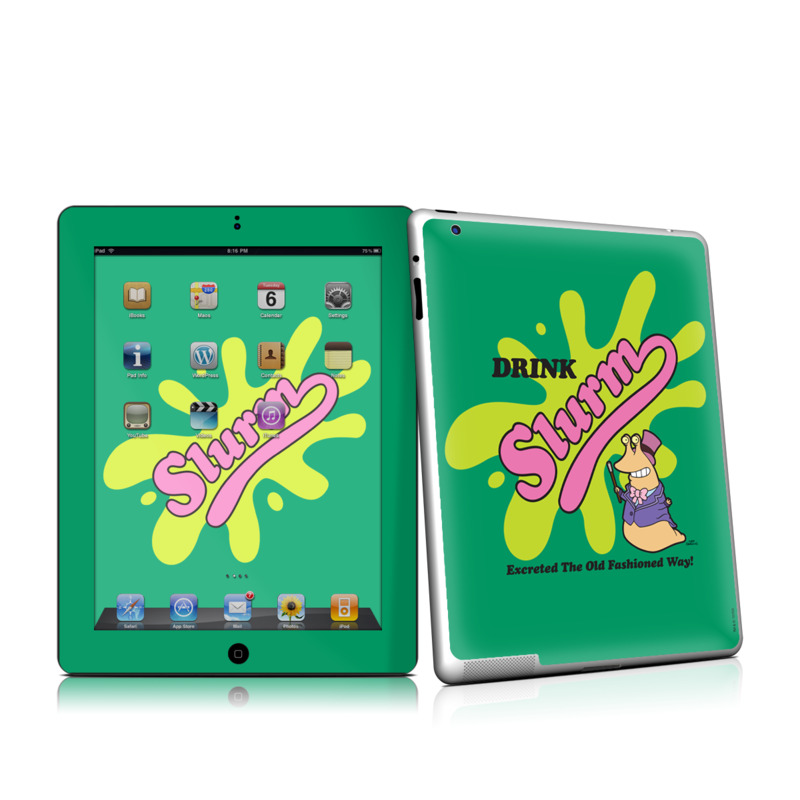 Slurm Apple iPad 2 Skin