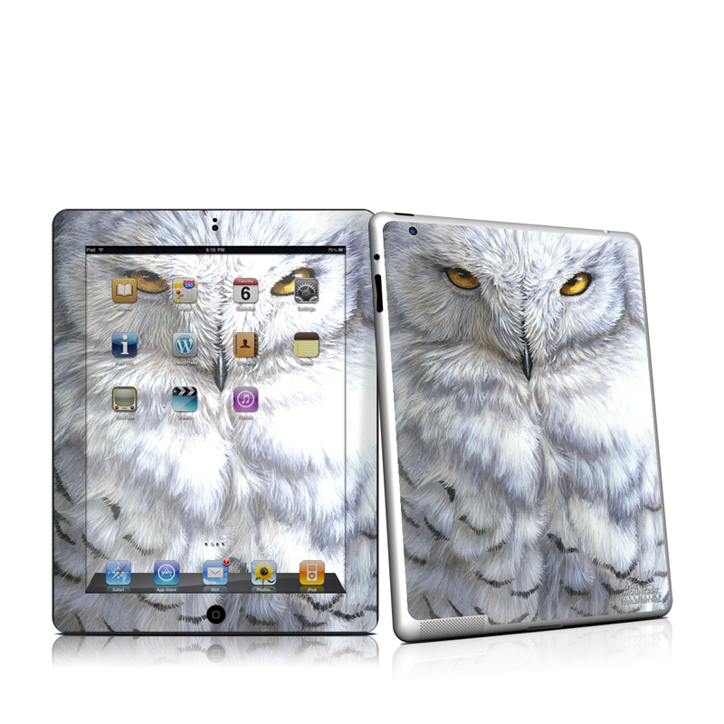 Snowy Owl iPad 2nd Gen Skin