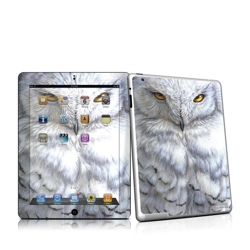 Snowy Owl Apple iPad 2 Skin