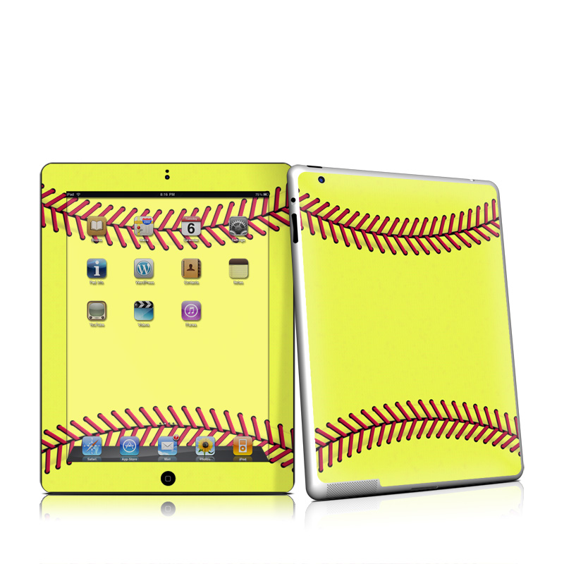 Softball iPad 2 Skin