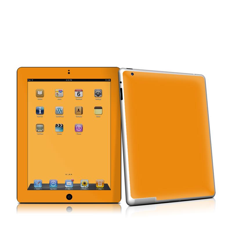 Solid State Orange iPad 2nd Gen Skin