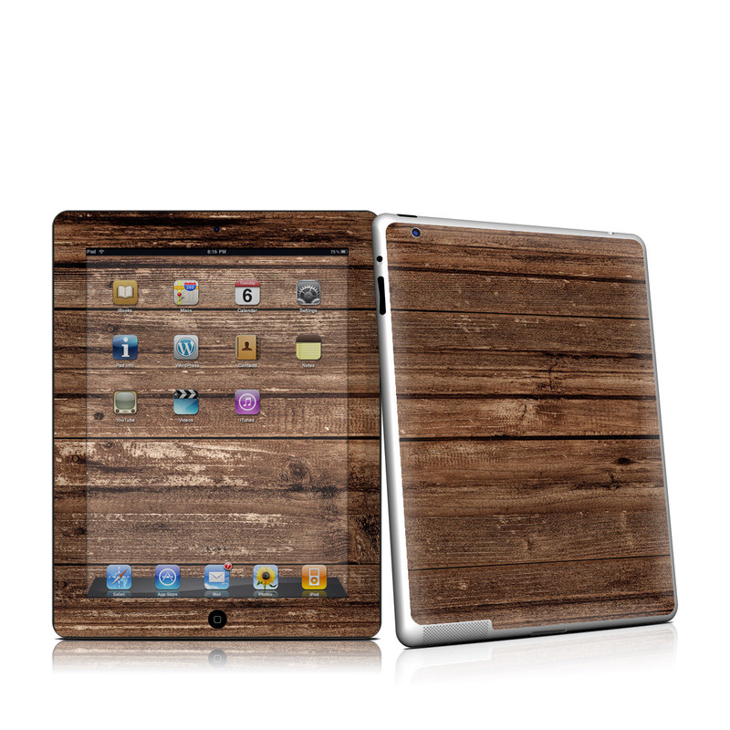 Stripped Wood iPad 2nd Gen Skin