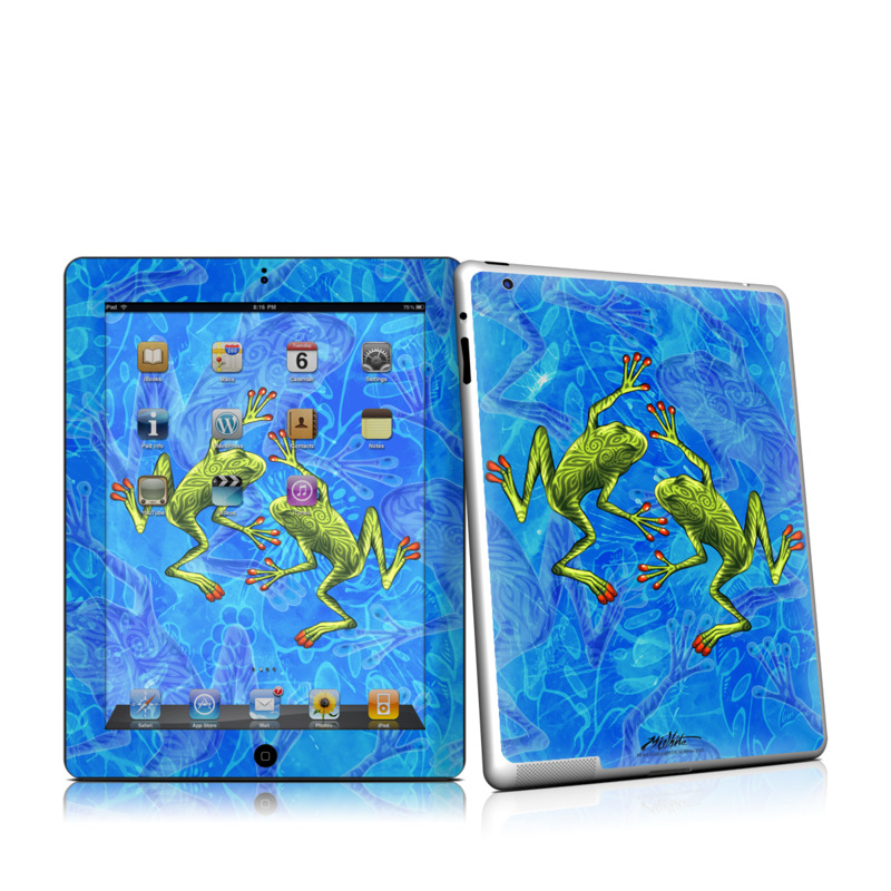 Tiger Frogs iPad 2 Skin