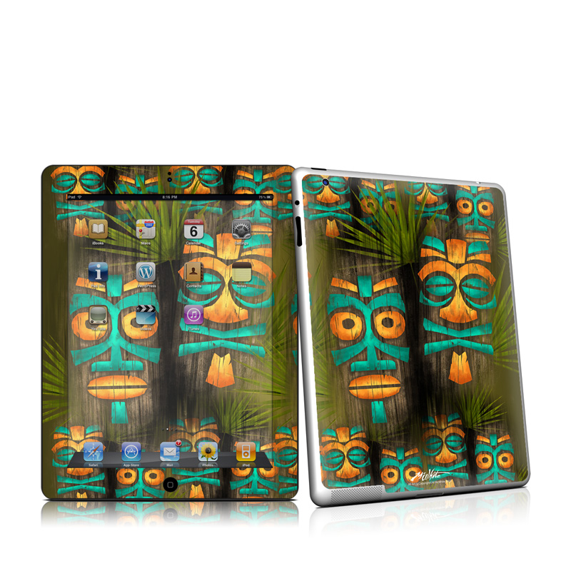 Tiki Abu iPad 2nd Gen Skin