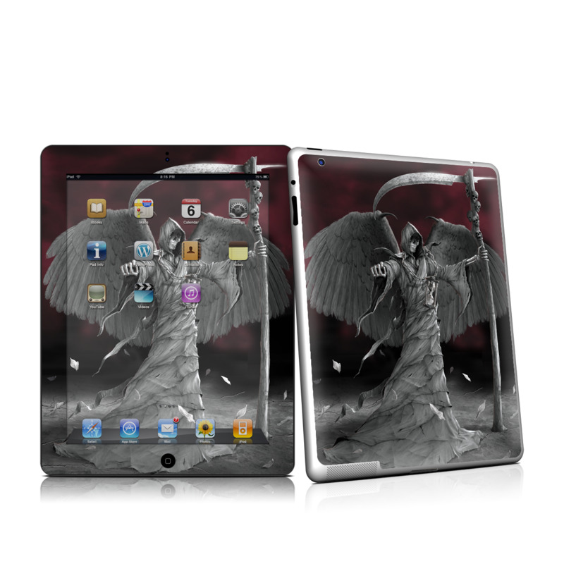 Time is Up iPad 2 Skin
