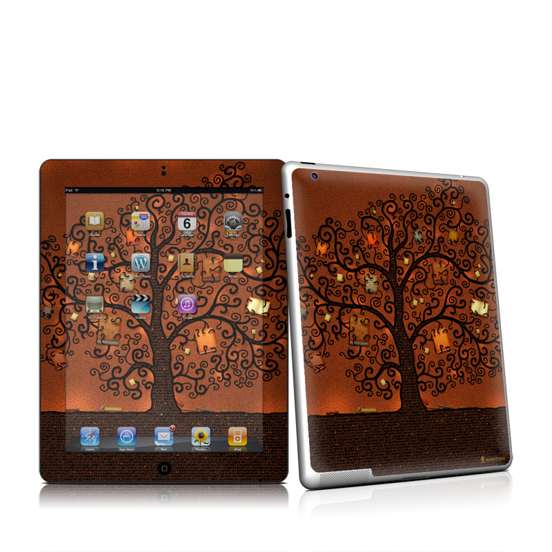 Tree Of Books Apple iPad 2 Skin