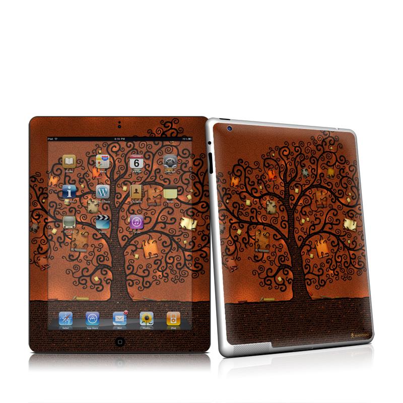 Tree Of Books iPad 2 Skin