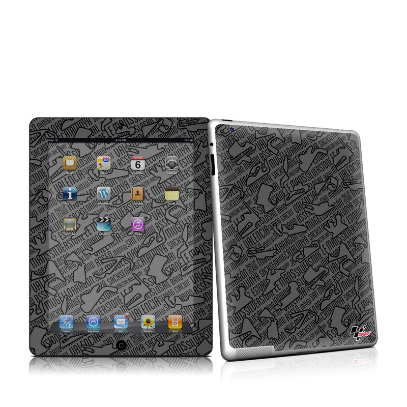 Tracked iPad 2nd Gen Skin