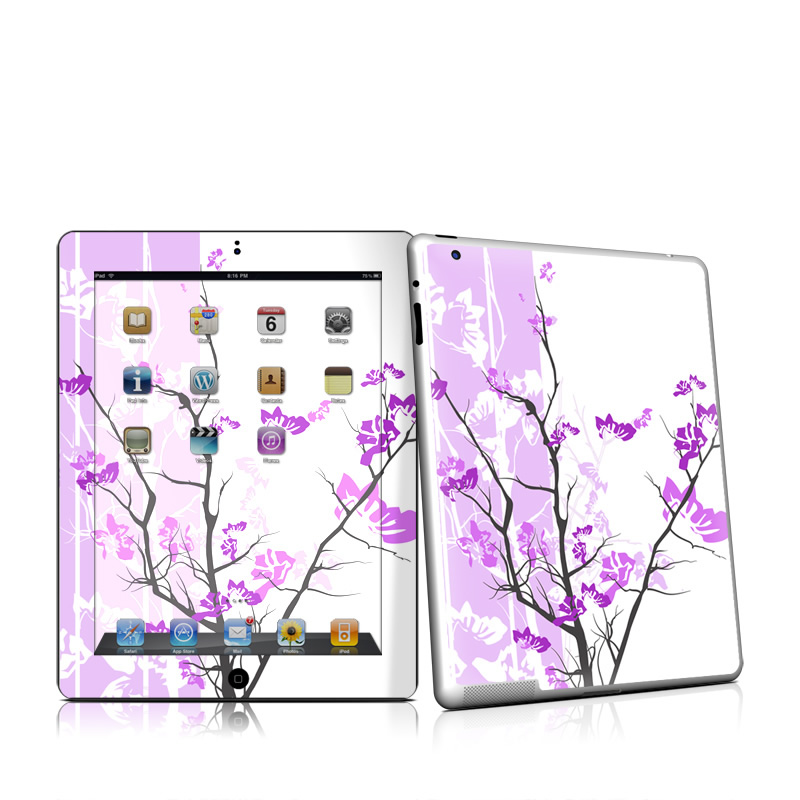 Violet Tranquility Apple iPad 2 Skin