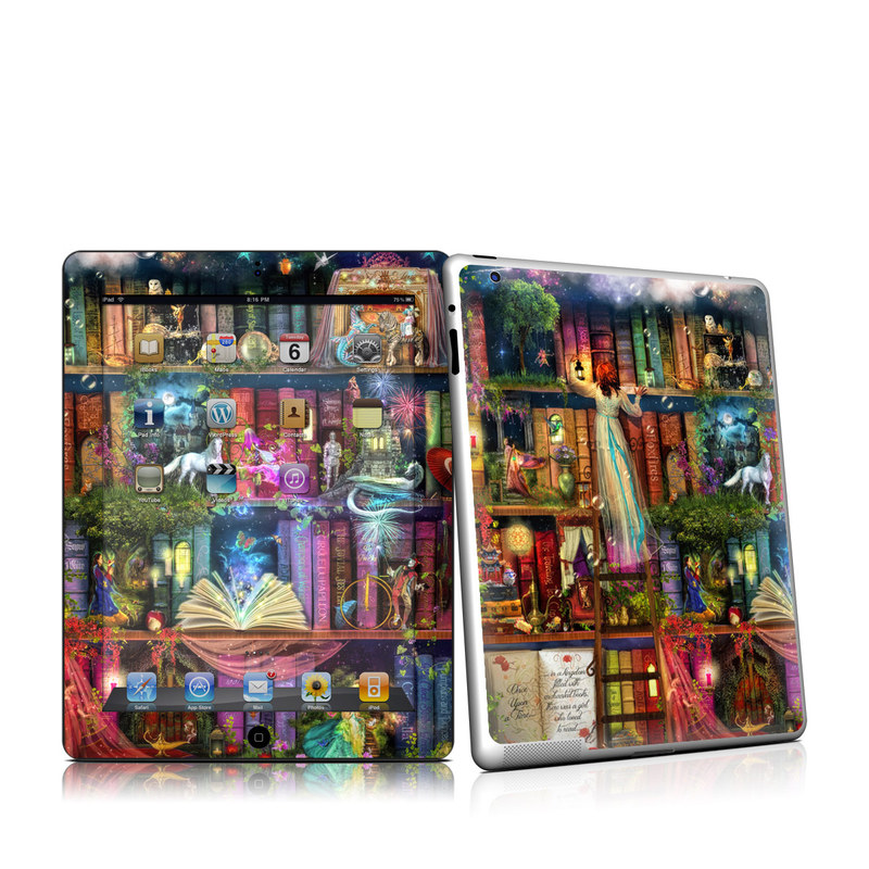Treasure Hunt iPad 2nd Gen Skin