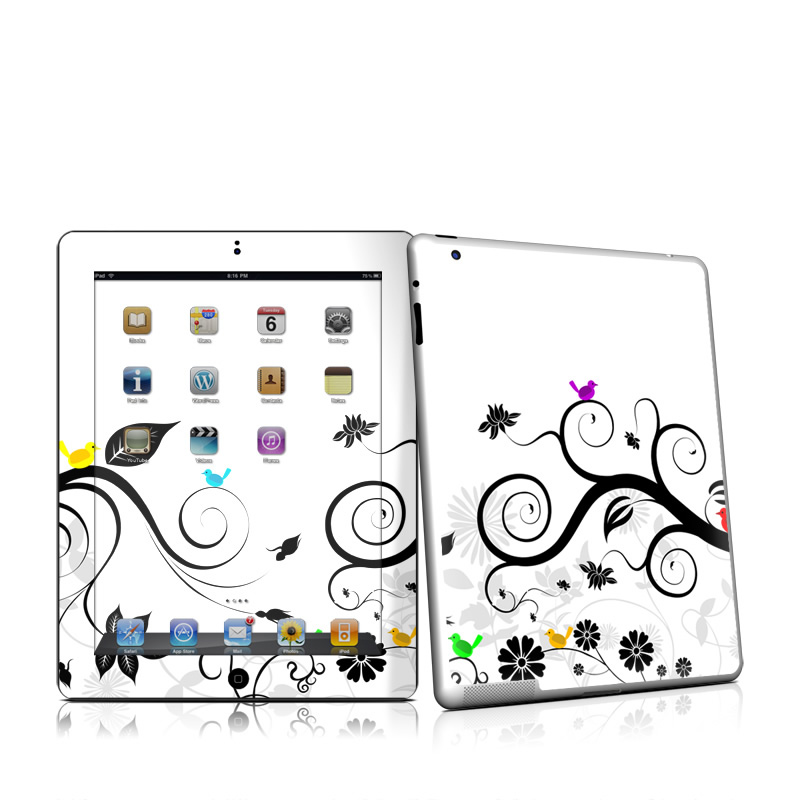 Tweet Light iPad 2 Skin
