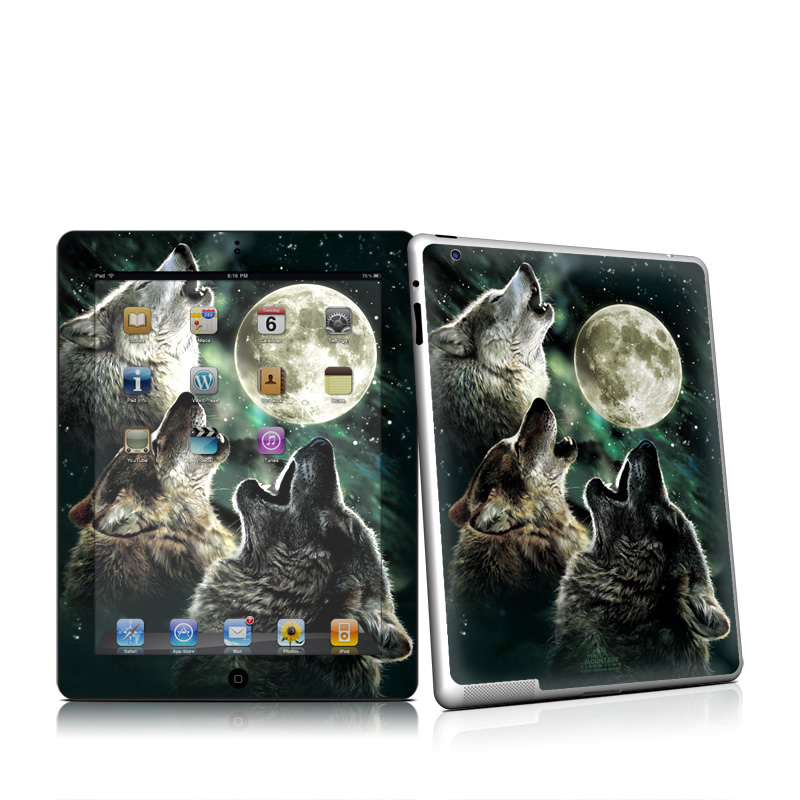 Three Wolf Moon iPad 2nd Gen Skin