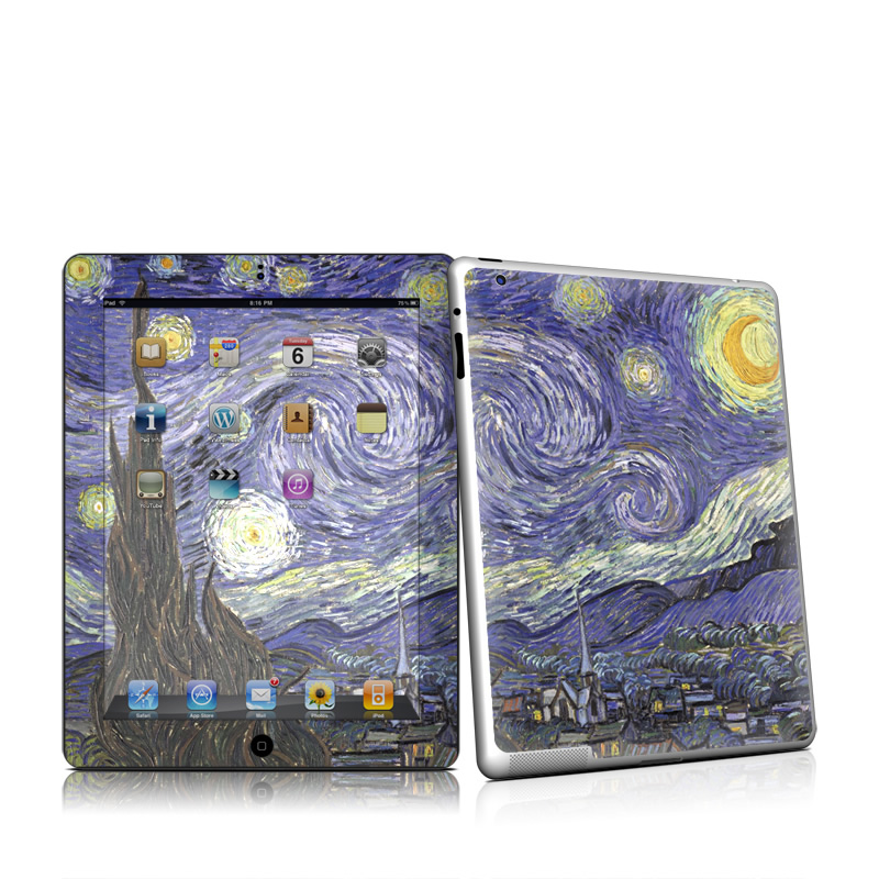 Starry Night iPad 2nd Gen Skin