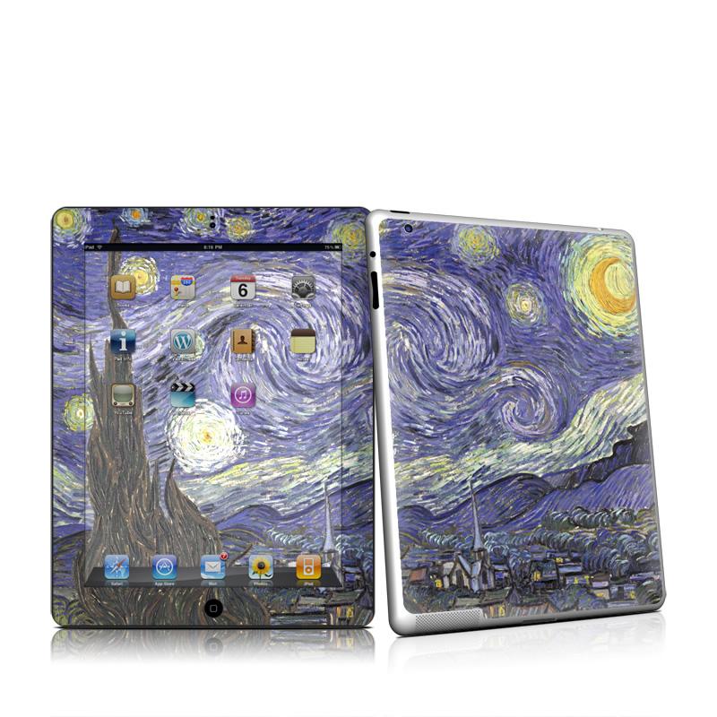 Starry Night Apple iPad 2 Skin