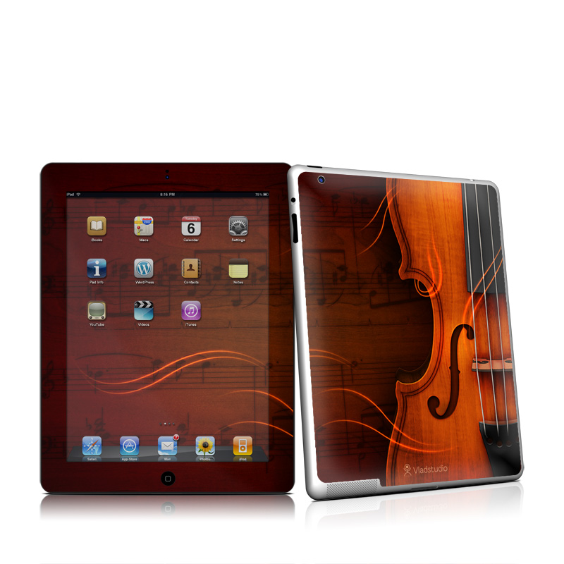Violin Apple iPad 2 Skin