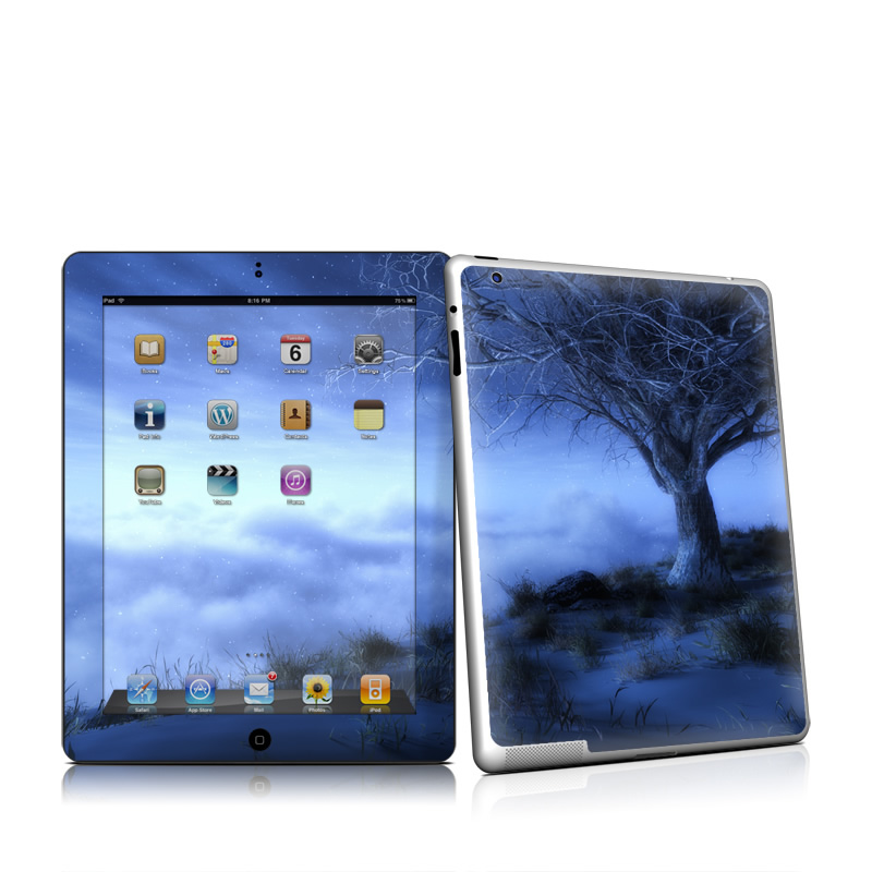 World's Edge Winter Apple iPad 2 Skin