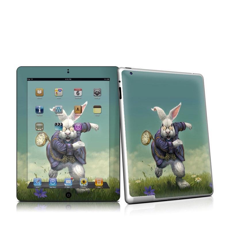 White Rabbit iPad 2nd Gen Skin