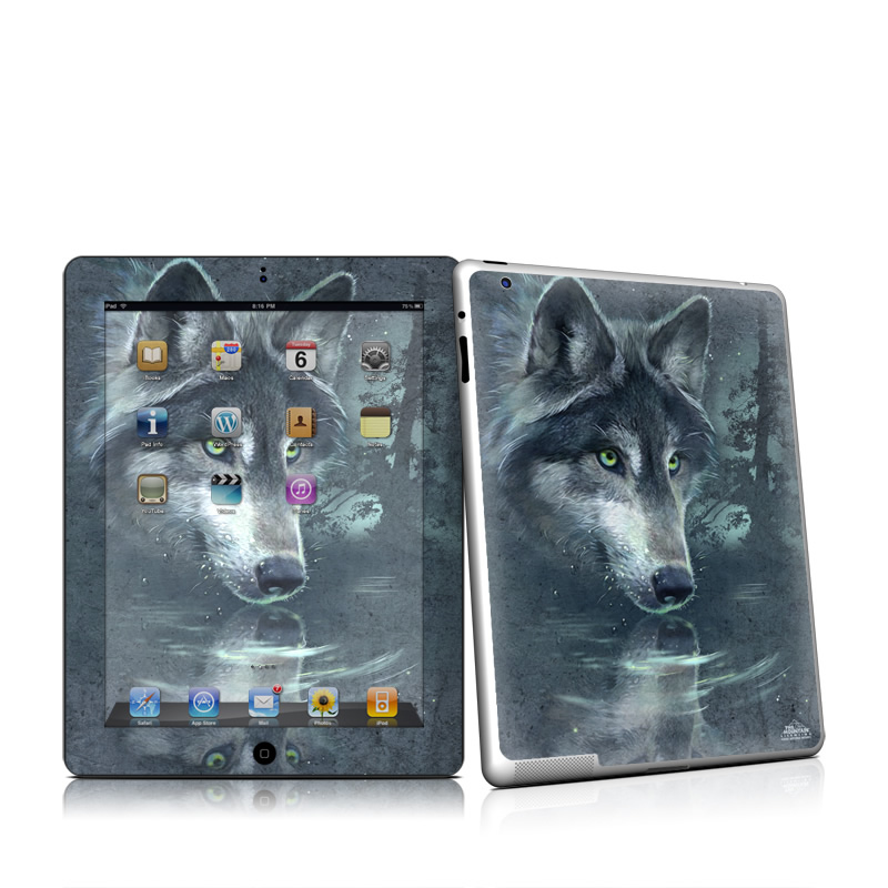 Wolf Reflection Apple iPad 2 Skin