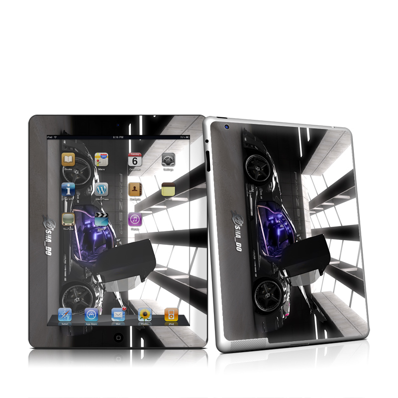 Z33 Dark Apple iPad 2 Skin