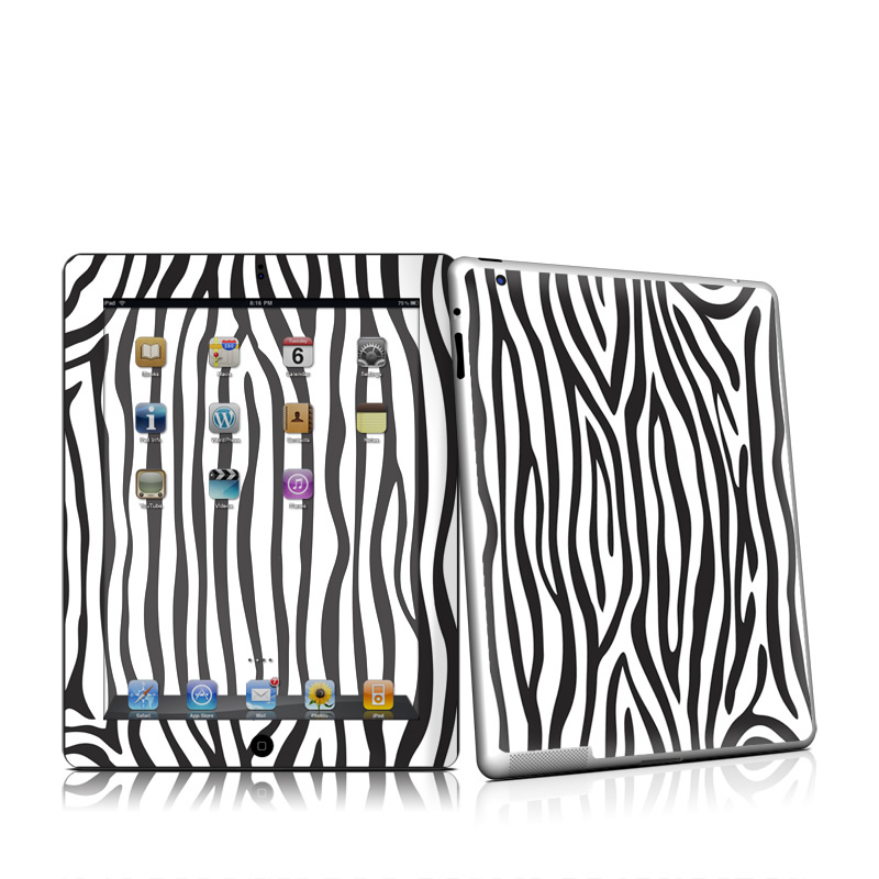 Zebra Stripes Apple iPad 2 Skin