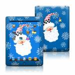 Santa Snowflake Apple iPad Skin