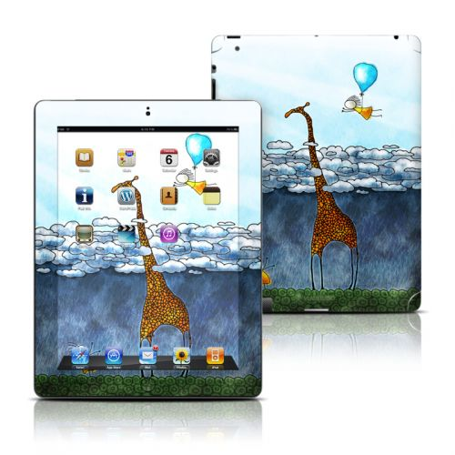 Above The Clouds iPad Skin