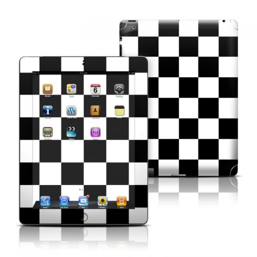Checkers iPad Skin