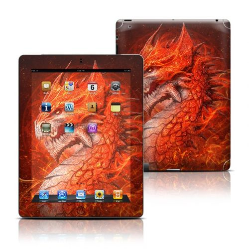 Flame Dragon iPad 3rd & 4th Gen Skin