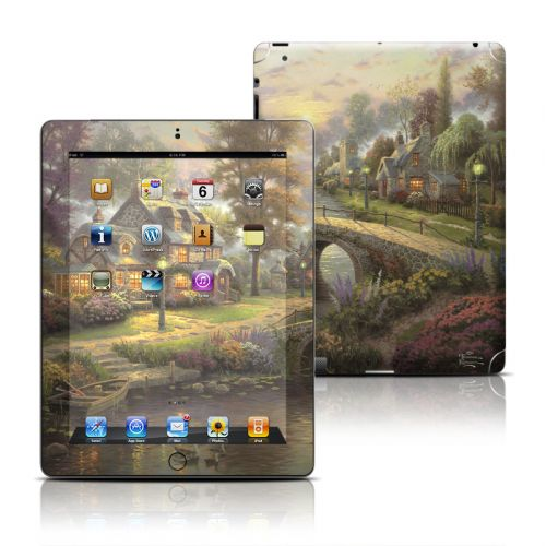 Sunset On Lamplight Lane iPad 3rd & 4th Gen Skin