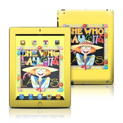She Who Laughs iPad Skin