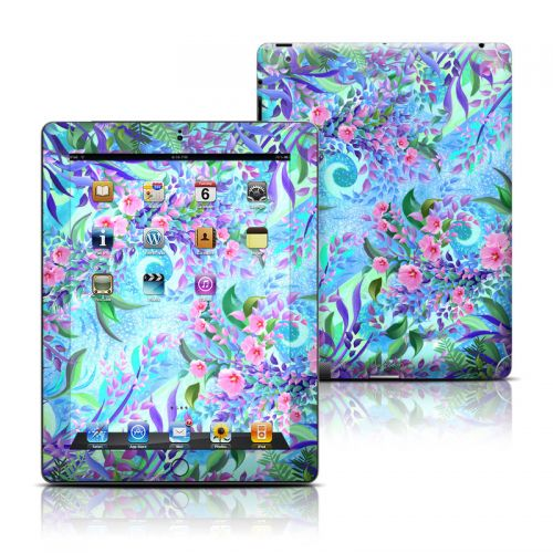 Lavender Flowers iPad 3rd & 4th Gen Skin