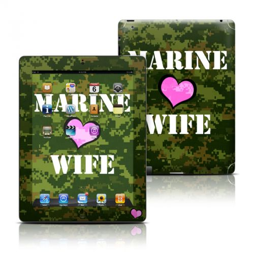 Marine Wife iPad Skin