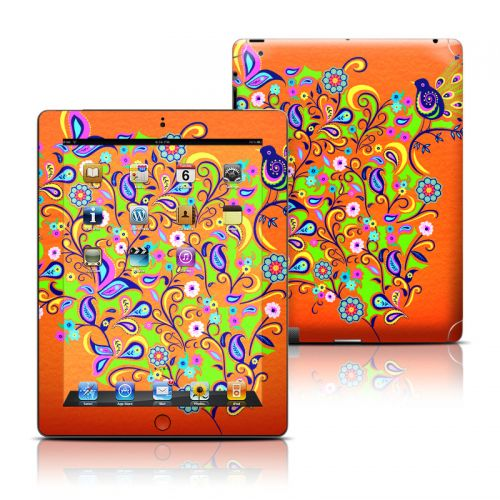 Orange Squirt iPad Skin
