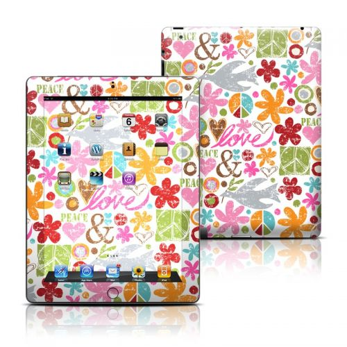 Peace Things iPad 3rd & 4th Gen Skin
